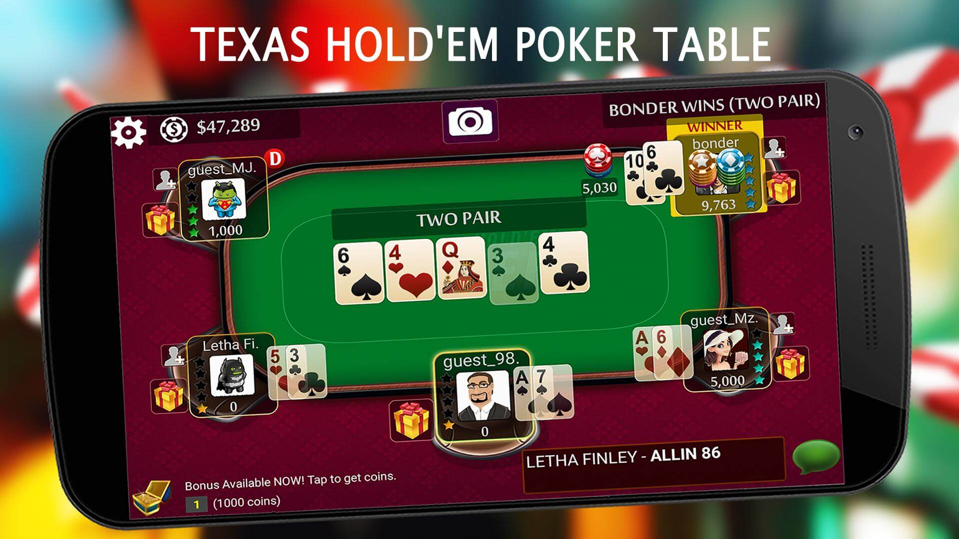 Texas Hold'em Poker rules